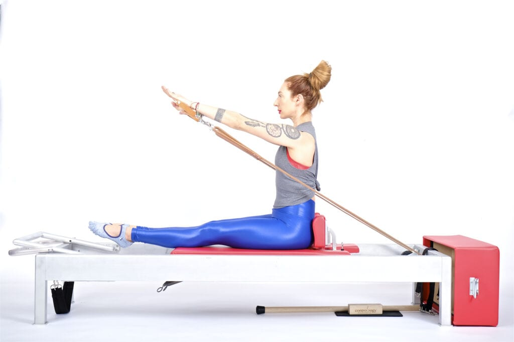 From the Chest (Rowing 3) on the Reformer | Online Pilates Classes