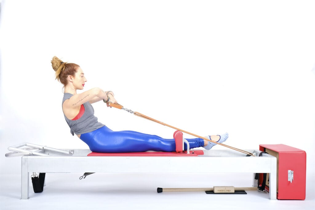 Into the Sternum (Rowing 1) on the Reformer | Online Pilates Classes