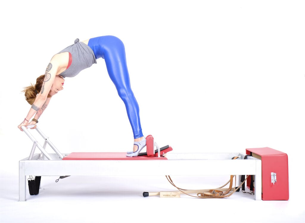 up stretch on the reformer | Online Pilates Classes