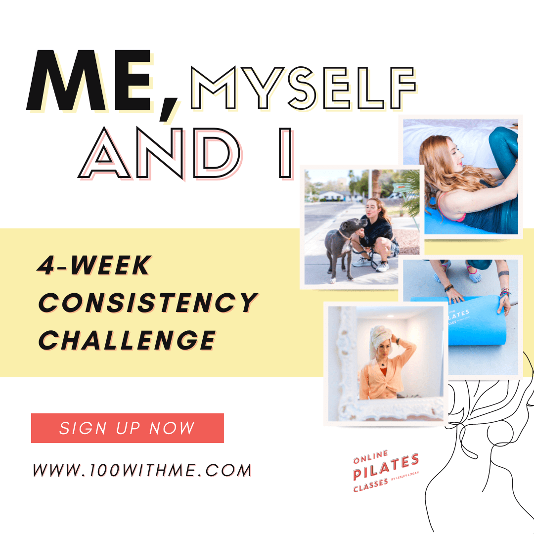 100withme pilates consistency challenge oct 2021