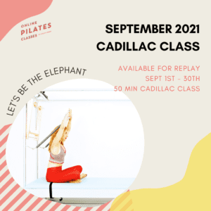 September 2021 Monthly 50-Min Class Monthly Cadillac Square