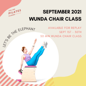 September 2021 Monthly 50-Min Class Monthly Wunda Chair Square