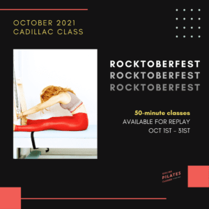 October 2021 Monthly 50-Min Class Monthly Cadillac Square